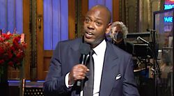 Dave Chappelle Talks 'Racist' Trump And How To Survive 'Anguish' In Edgy 'SNL'