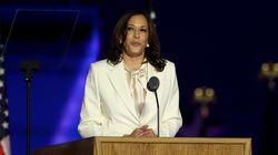 El importante mensaje feminista de Kamala Harris en su primer discurso como vicepresidenta