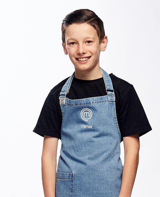 'Junior MasterChef Australia' contestant Carter
