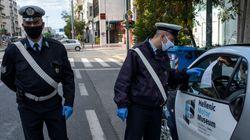 Lockdown: «Βροχή» τσουχτερών προστίμων 300 ευρώ - 1.000 πρόστιμα την πρώτη