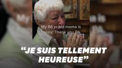 Cette Américaine de 86 ans, en larmes devant la victoire de Biden, a ému les