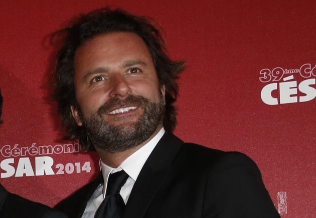 Cyril Colbeau-Justin aux César en 2014 où a été récompensé...