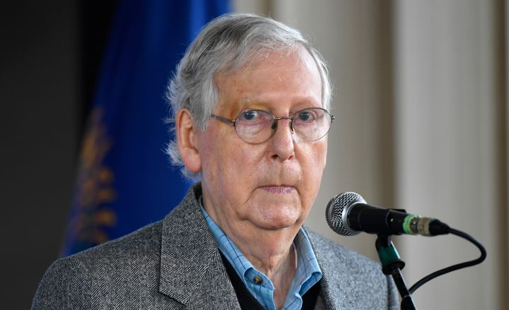 Mitch McConnell (R-Ky.) may very well still be majority leader under a Biden administration.