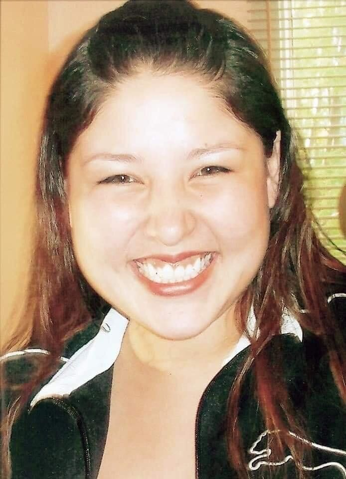 Photo of Jennifer Catcheway not long before she went missing.