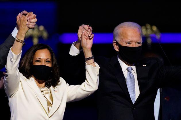 조 바이든 미국 대통령 당선인과 카말라 해리스 부통령