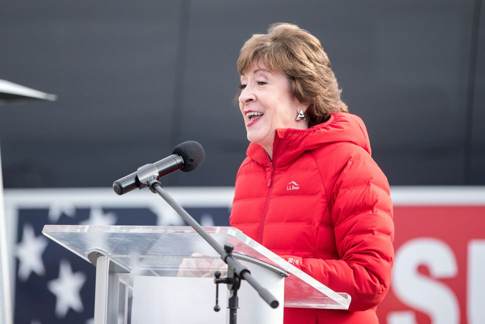 Maine GOP Sen. Susan Collins' reelection victory played a key role in maintaining Republicans' control of the Sen
