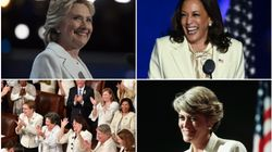 カマラ・ハリス氏はなぜ勝利演説で白いパンツスーツを着たのか。初の女性副大統領誕生へ