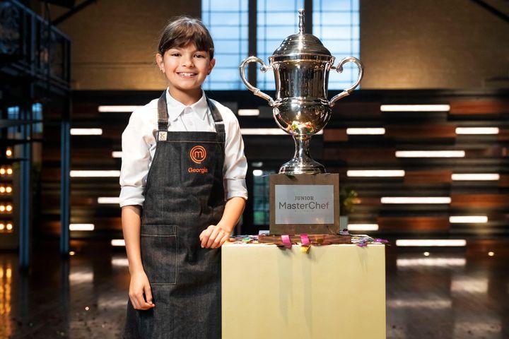 'Junior MasterChef Australia' winner Georgia