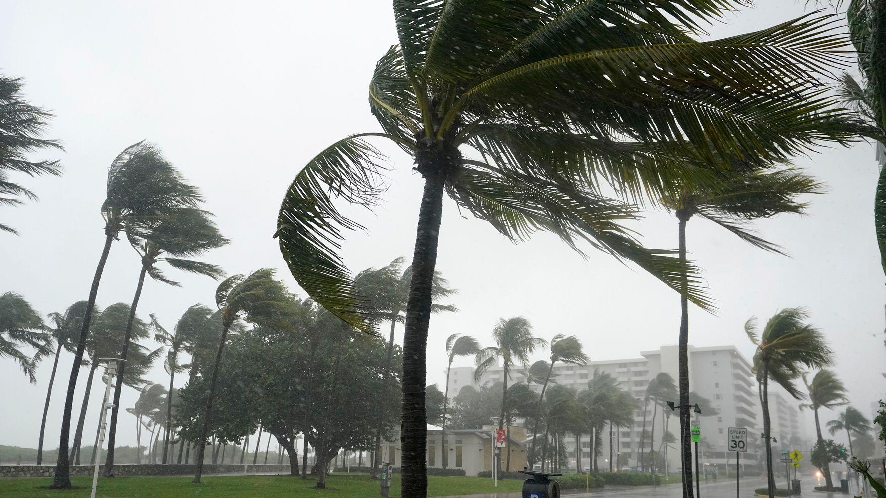 Tropical Storm Eta Makes Landfall In Florida Keys