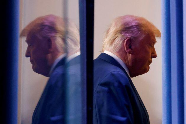 Donald Trump, en la sala de prensa de la Casa Blanca el 5 de noviembre de