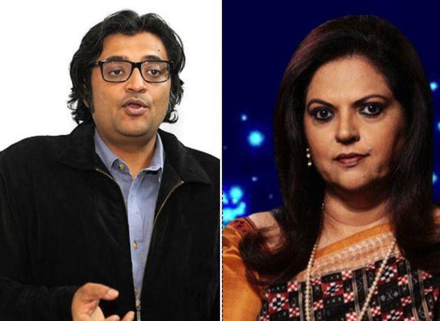 Arnab Goswami and Navika