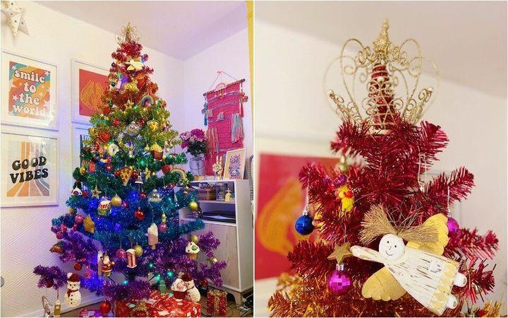 Rainbow Christmas treet