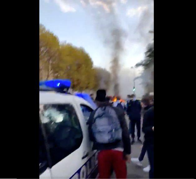 Capture d'écran vidéo d'une image qui circule sur