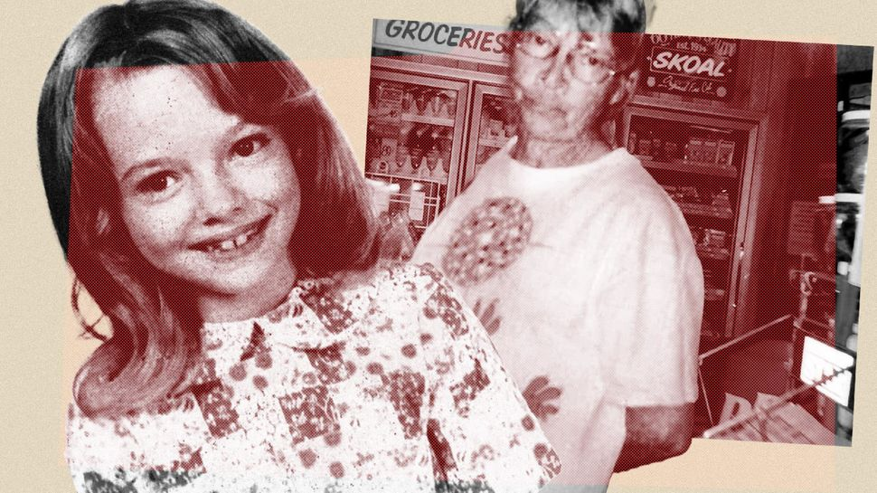 Lisa Montgomery, on left, grew up in a dysfunctional house replete with alcohol abuse, domestic violence...