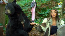 Wejdene épinglée pour s'être affichée avec un ours dans son dernier