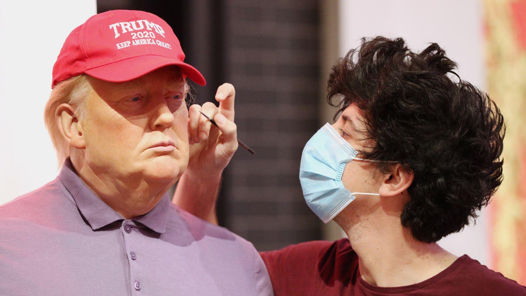 London Wax Museum Refits Donald Trump Figure In Golf Attire Following Election Loss