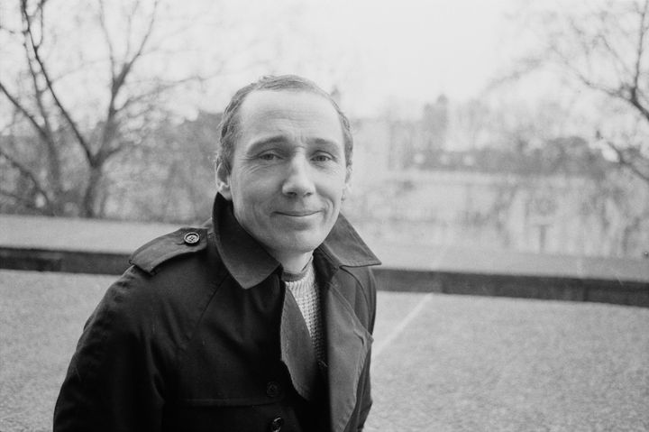 Michael Fagan at the Tower of London in 1985, three years after he broke into the Queen's bedroom.