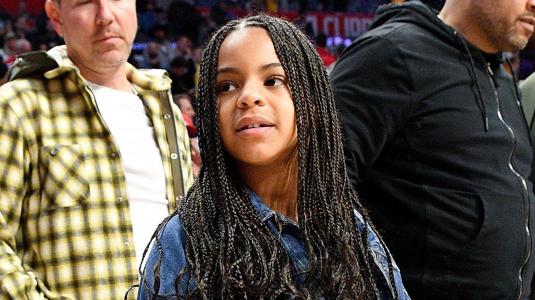Grammy Incoming: Blue Ivy Carter Narrates Audiobook Of Oscar-Winning 'Hair Love'