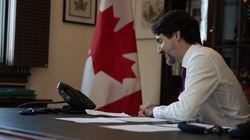 Première discussion officielle pour Trudeau et