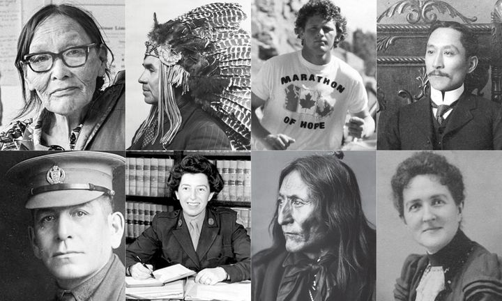 The eight great Canadians shortlisted to be on the new $5 bill.