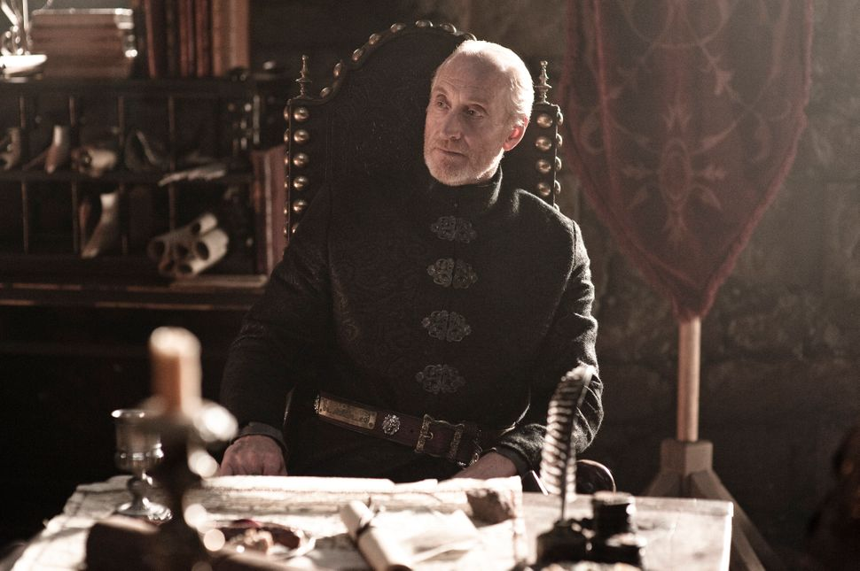 "On ""Game of Thrones,"" Charles Dance played Tywin Lannister, the father of Jaime, Cersei and Tyrion of House Lannister."