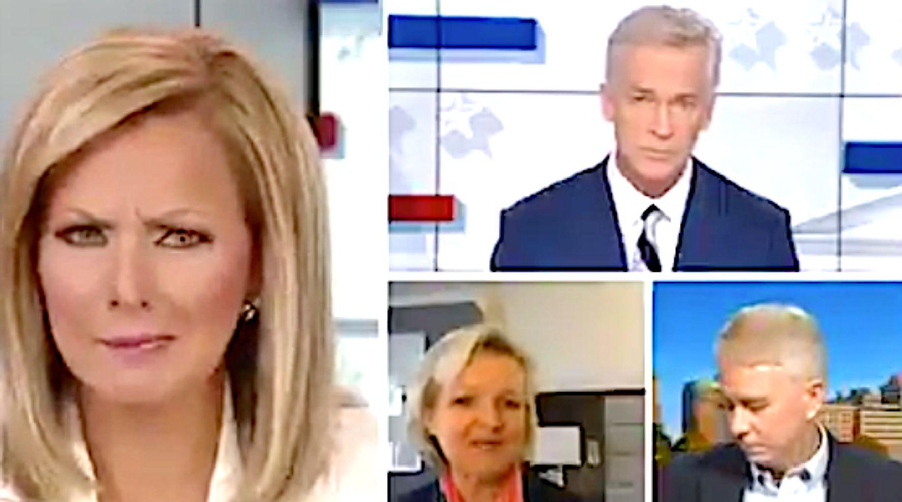 Watch Fox News Host's Look Of Utter Disdain Over Voter Fraud Claim On Hot Mic