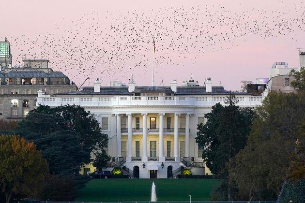 도널드 트럼프 미국 대통령은 대선 결과를 아직 승복하지 않고 있다. 사진은 백악관 전경. 2020년