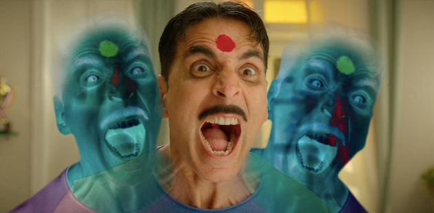 Akshay Kumar in a scene from