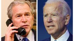 ブッシュ元大統領がバイデン氏を祝福「選挙は公正で、結果ははっきりしている」