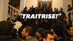 Après le cessez-le-feu au Karabakh, des Arméniens envahissent le gouvernement et le
