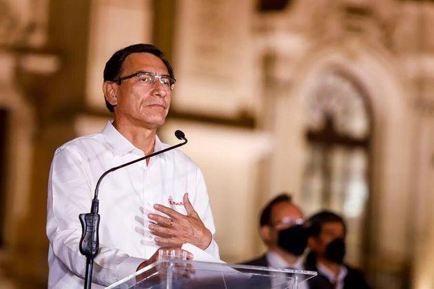 Martín Vizcarra, presidente de Perú hasta este