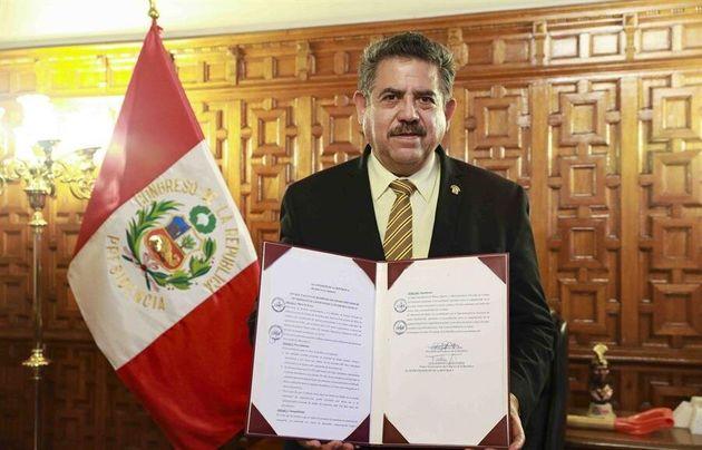 Manuel Merino, designado presidente