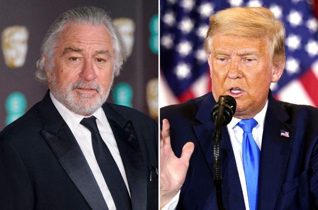 Robert De Niro and Donald
