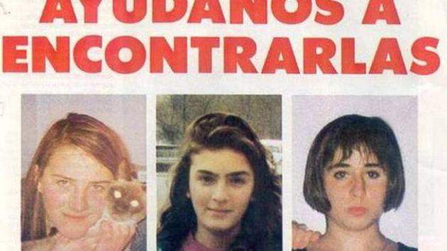 Miriam, Toñi y Desireé, las tres niñas asesinadas de