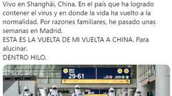Un tuitero arrasa al compartir lo que ha tenido que hacer al ir a China y lo compara con lo que se hace en