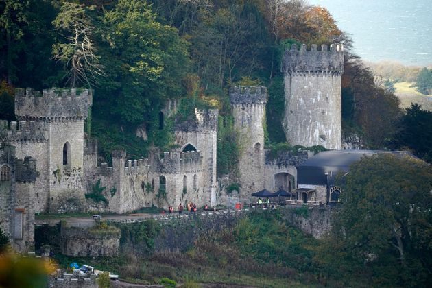 Gwyrch Castle is the new setting for I'm A Celebrity... Get Me Out Of