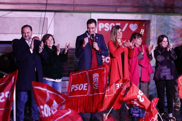 Noche electoral en