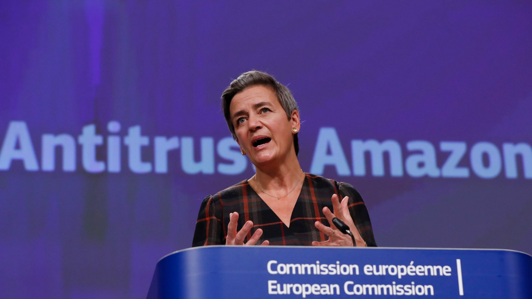 European Union Files Antitrust Charges Against Amazon