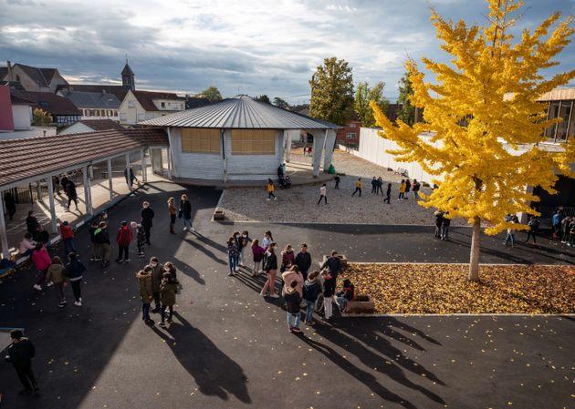 Aucun élève n'a été blessé d'après la directrice de l'école (Photo
