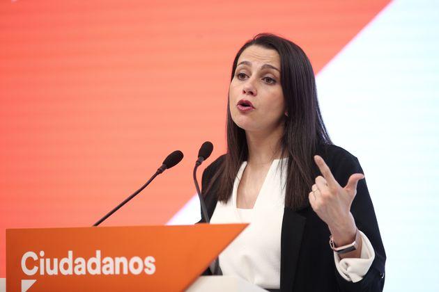Inés Arrimadas, el 10 de marzo de 2020 (Eduardo Parra/Europa Press via Getty