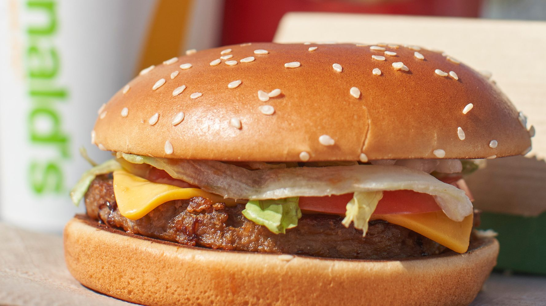McDonald's Unveils Its Own Meatless Burger, The McPlant
