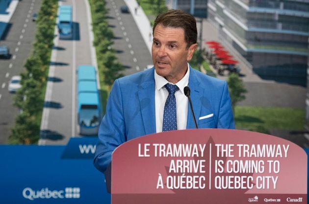Le ministre des Transports, François Bonnardel. (photo