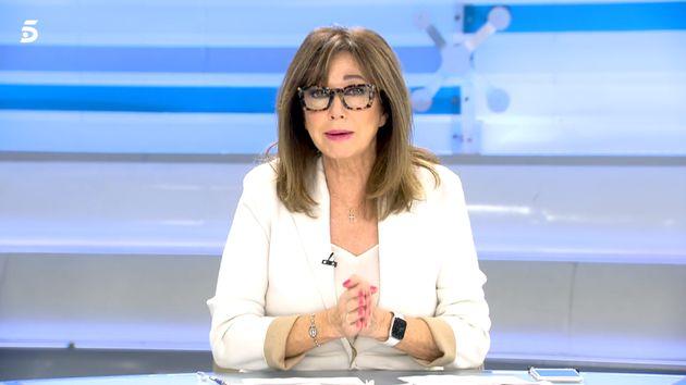 Ana Rosa Quintana este martes en 'El programa de