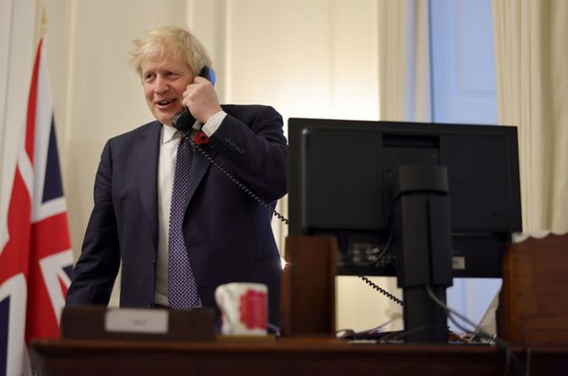 Boris Johnson calls Joe Biden from Downing