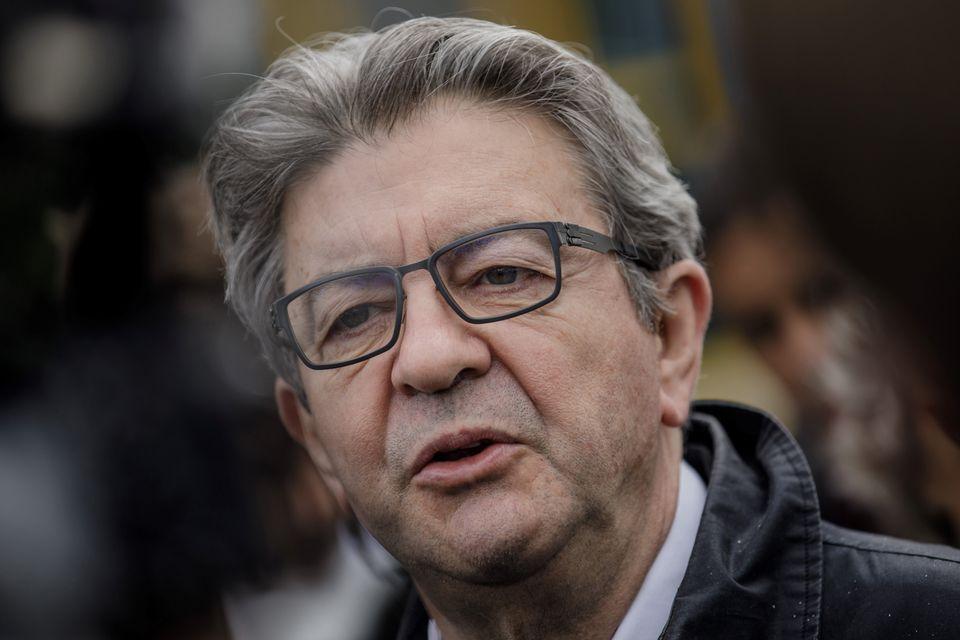 Jean-Luc Mélenchon, candidat à l'élection présidentielle, ici au Havre le 19 juin 2020 pendant la campagne des municipales.