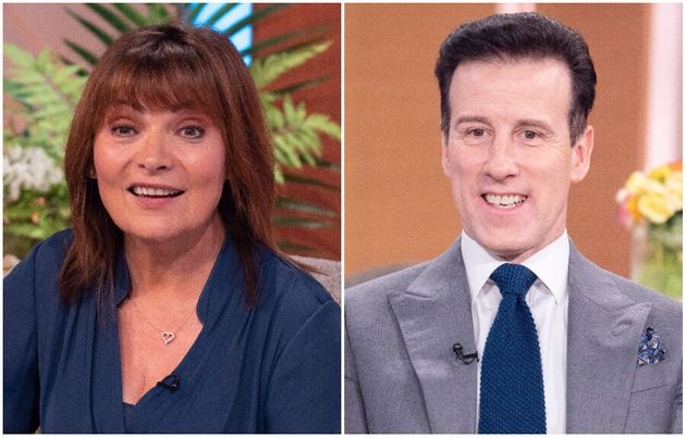 Lorraine Kelly and Anton Du