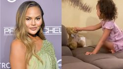 Chrissy Teigen Shares 'Cutest, Most Beautiful' Video Of Daughter Talking To Late Baby's