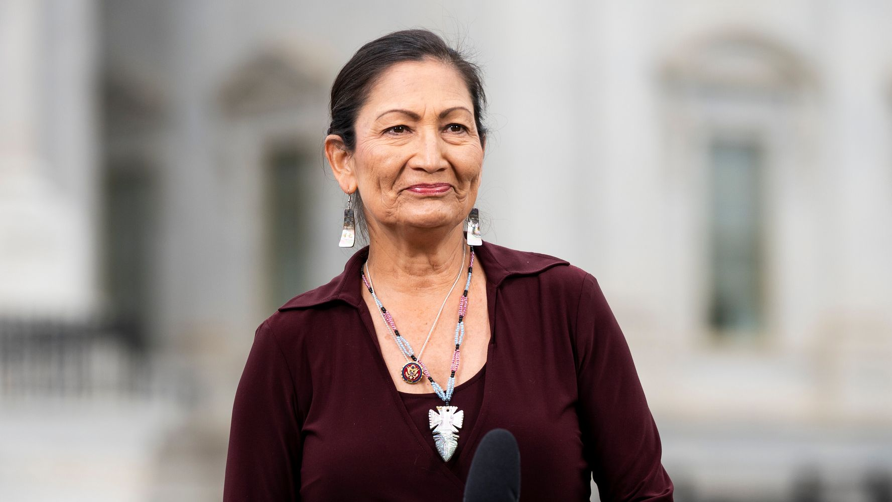 Deb Haaland: 'Of Course' I'd Be Interested In Being Biden's Interior Secretary