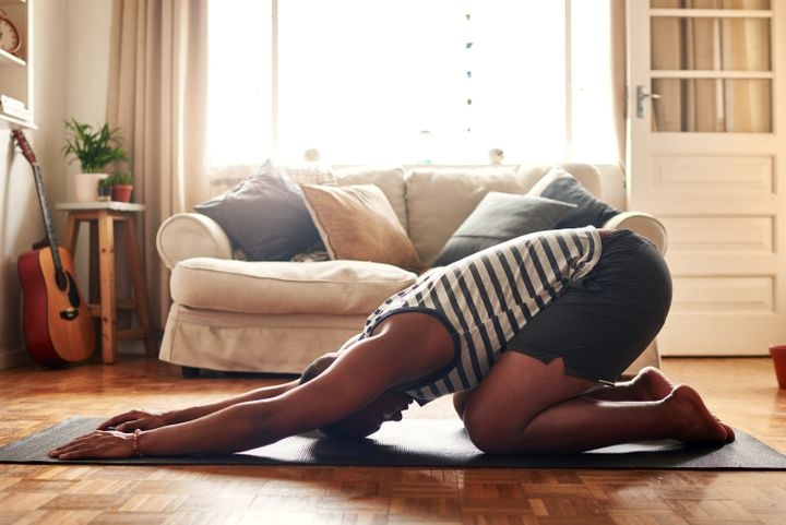 Moving your body after work can help you release job-related stress.