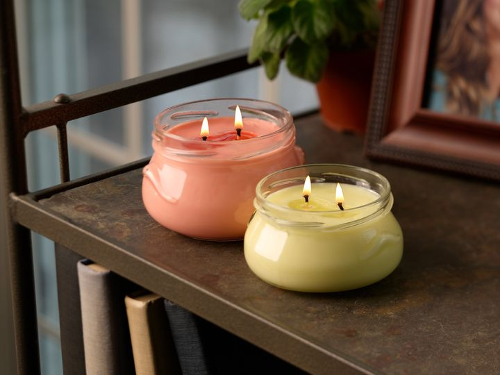 After work, put your laptop away and light your favorite candle to create a soothing ambience.